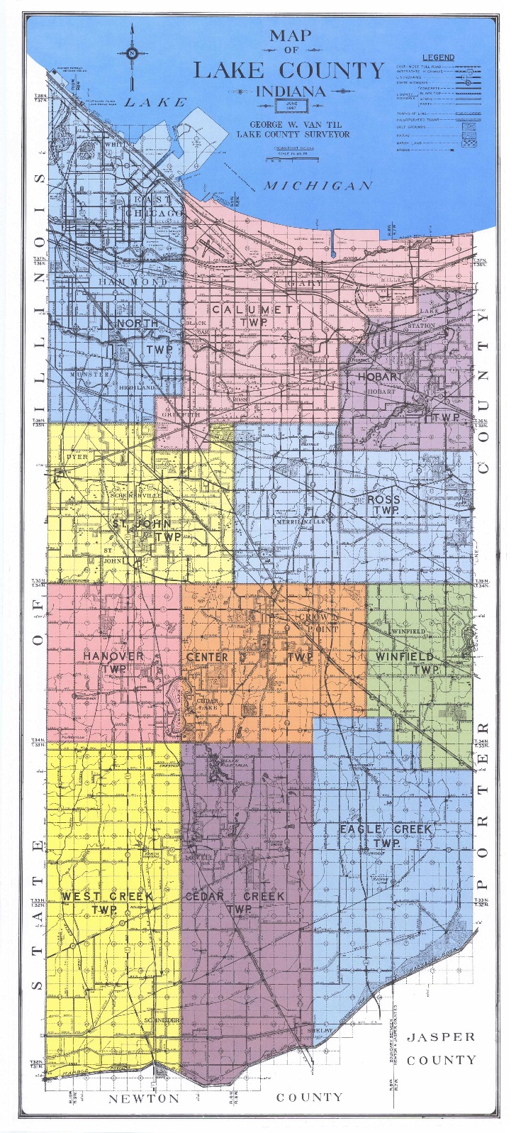 Indiana lake county griffith - Not Sure Which Jurisdiction Your Property Is Located In View The Township Map Or District List Below